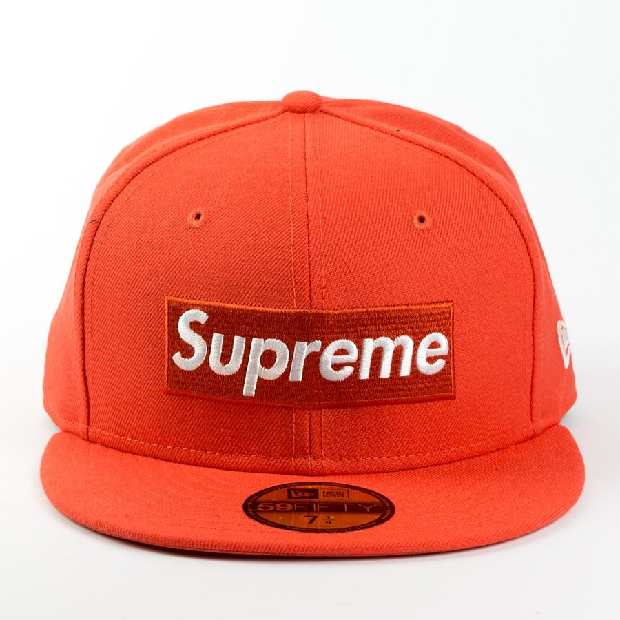 5a58ae79 Supreme x Playboy fitted Box Logo New Era 59FIFTY orange Click to zoom ...