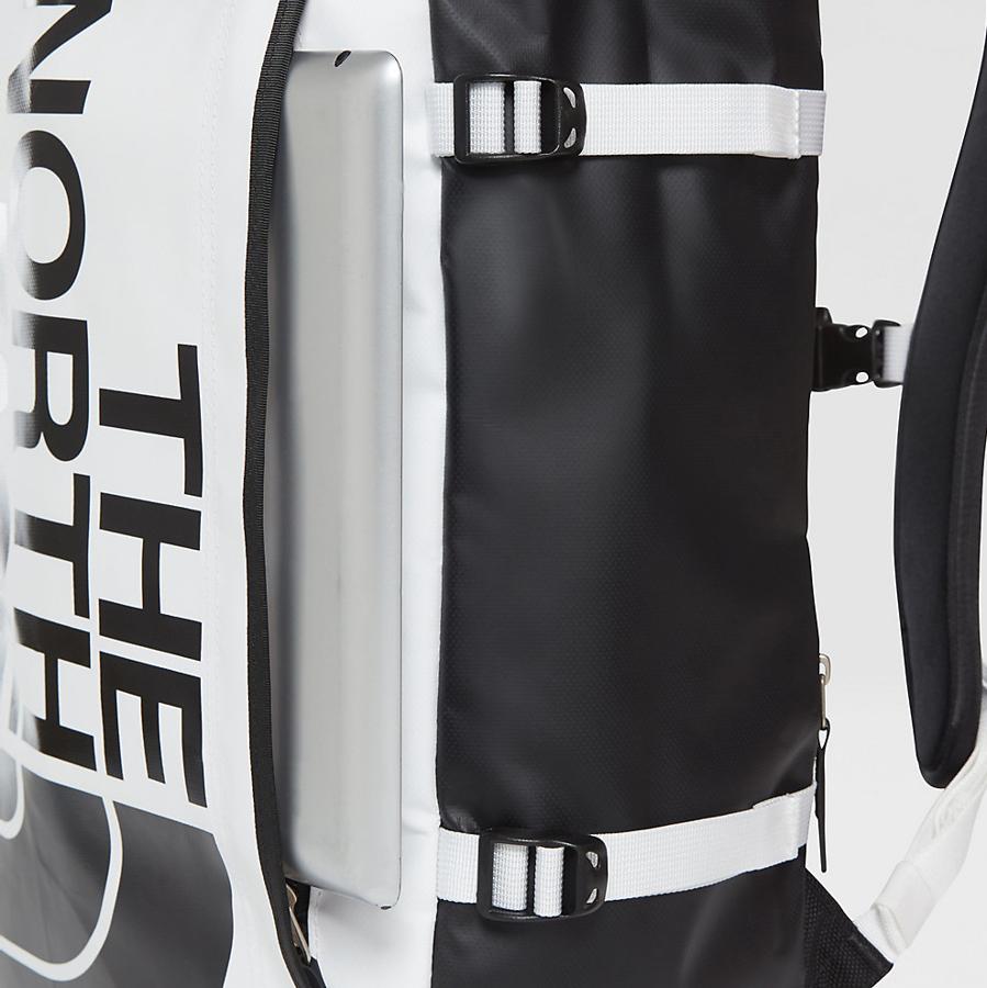 najlepiej sprzedający się kupować tanio dla całej rodziny The North Face backpack Base Camp Fuse Box tnf white / tnf black (T93KVRLA9)