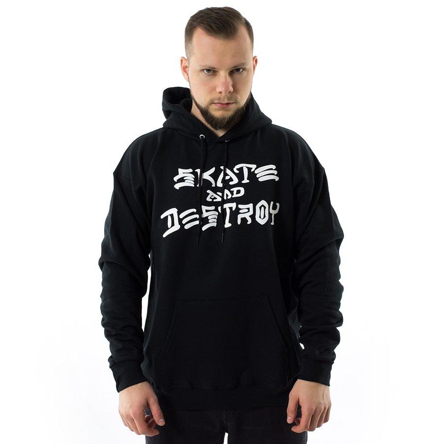 a8f9eacfa0f2 Thrasher sweatshirt hoody Skate And Destroy black Click to zoom ...
