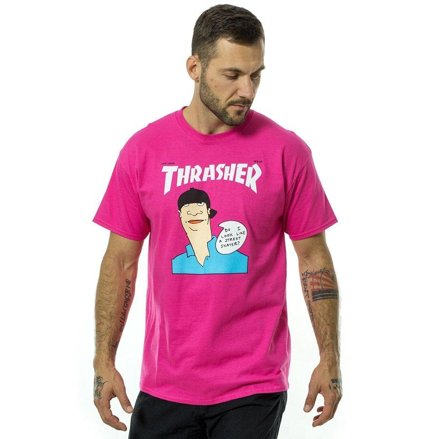 642c0491afdb Thrasher t-shirt Gonz Cover pink Male | T-Shirts \ T-Shirts *Men \ T ...