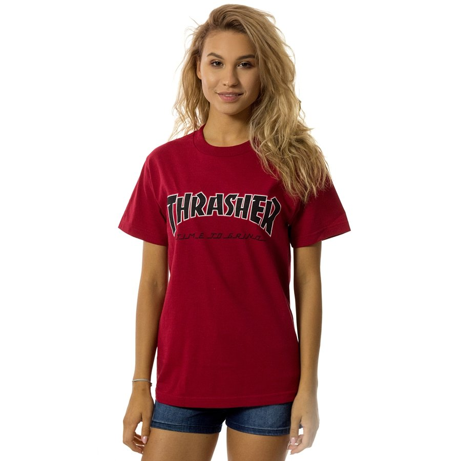 Thrasher x Independent t-shirt WMNS TTG red Click to zoom ... d0ffc1c149
