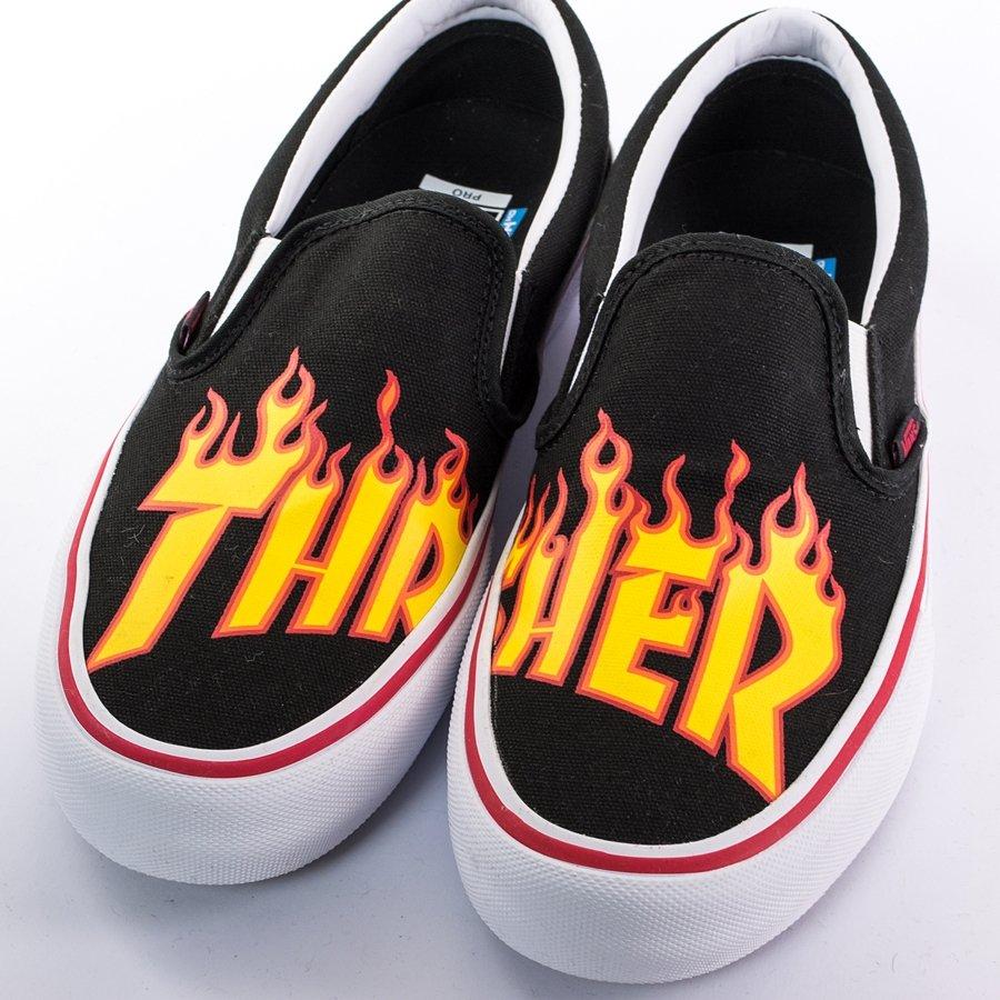 e3e59480f85e ... Vans x Thrasher Slip On Pro black (VA347VOTE) TM Click to zoom