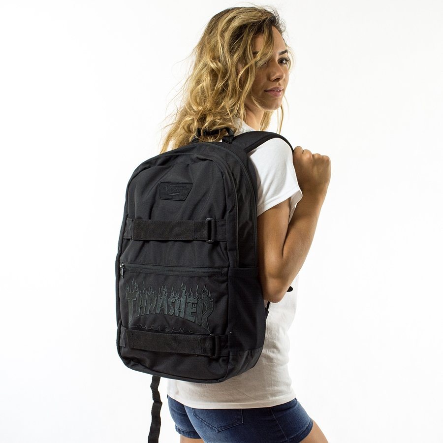Vans x Thrasher backpack Authentic III S black Click to zoom ...