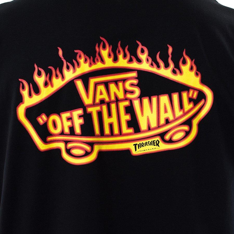 e1548441f40 ... Vans x Thrasher t-shirt Pocket Tee black (VA36M3BLK) TM Click to zoom  ...