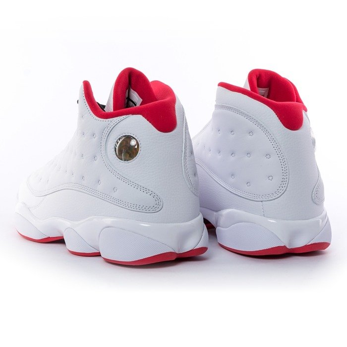 Air Jordan 13 Retro History of Flight white / metallic silver - university red (414571-103)