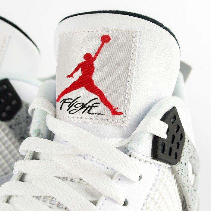 "Air Jordan 4 Retro OG ""White Cement"" White (819139-402)"