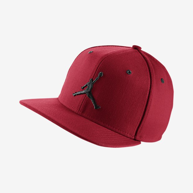 f4109b429d6 Air Jordan snapback Jumpman red   black (619360-689)