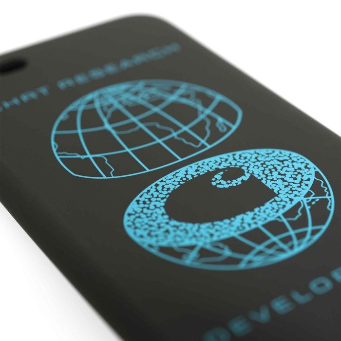 Carhartt WIP iPhone 8 Case CHRT Research black