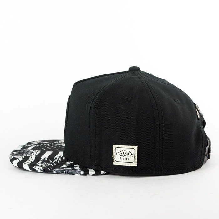 Cayler and Sons snapback 99 FCKN Problems Classic Cap black / white