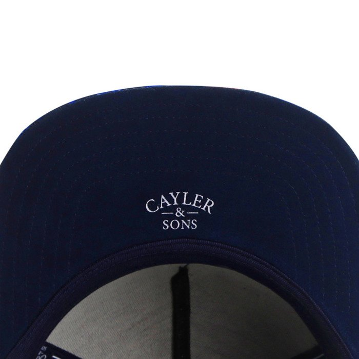 Cayler and Sons snapback WL Mofos navy