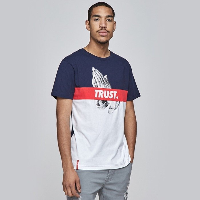 Cayler and Sons t-shirt WL Block Trust Tee white / navy