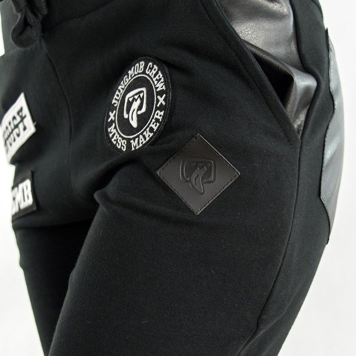 Jungmob sweatpants JNGMB black