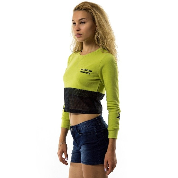MLimited Short Sweatshirt WMNS Company olive / black