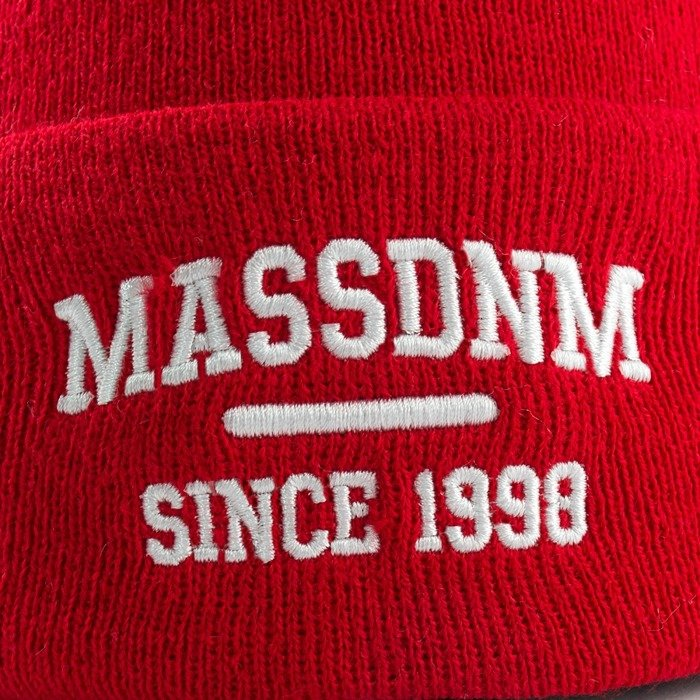 Mass Denim beanie Campus red