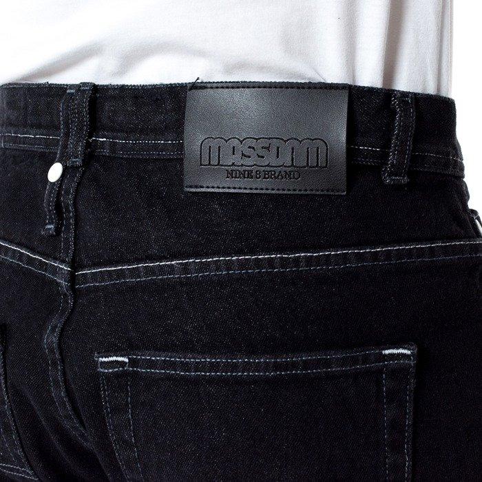 Mass Denim jeans Base Regular Fit black rinse