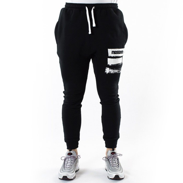 Mass Denim jogger sweatpants Traces black