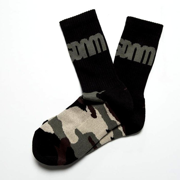 Mass Denim socks Half Camo black