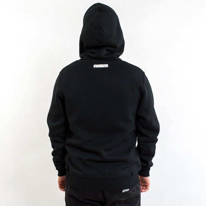 Mass Denim sweatshirt hoody Classics black