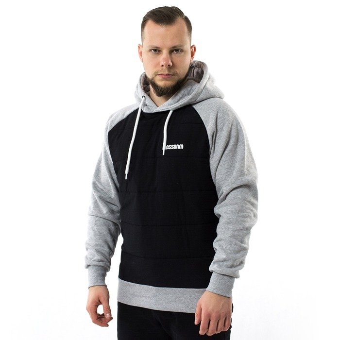 Mass Denim sweatshirt hoody Teknik black
