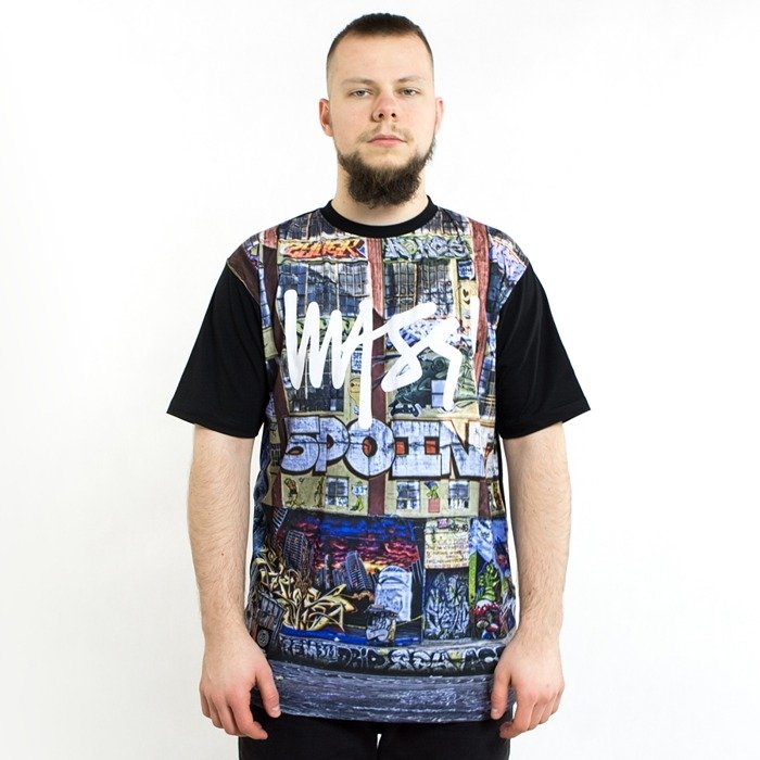 Mass Denim t-shirt R.I.P 5Pointz mc