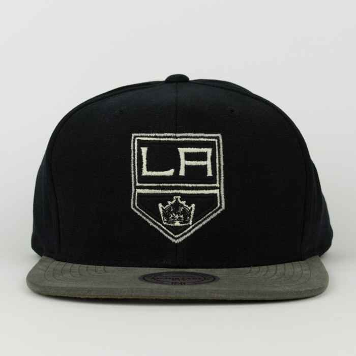 Mitchell & Ness snapback Sandy Off  Los Angeles Kings black / dark grey