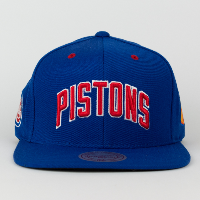 Mitchell and Ness Detroit Pistons snapback Championship Pack royal (VP03Z)