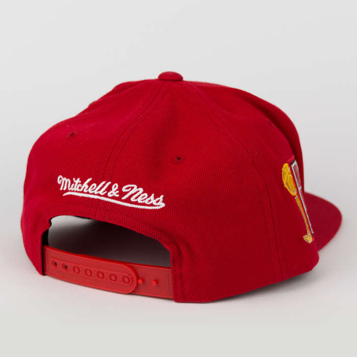 Mitchell and Ness Houston Rockets snapback Championship Pack 1993/94 Tilte red (VP06Z)