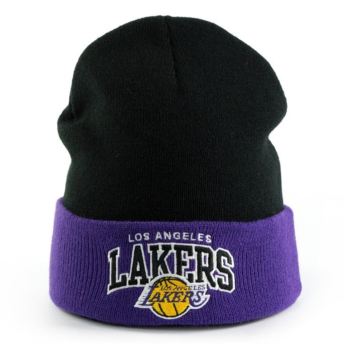Mitchell and Ness Team Arch Cuff Los Angeles Lakers black