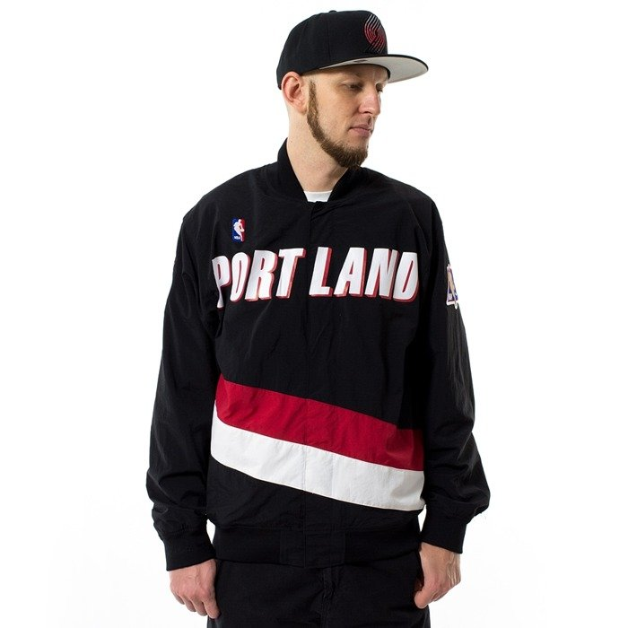 Mitchell and Ness authentic warmjacket NBA Warm Up Portland Trail Blazers black