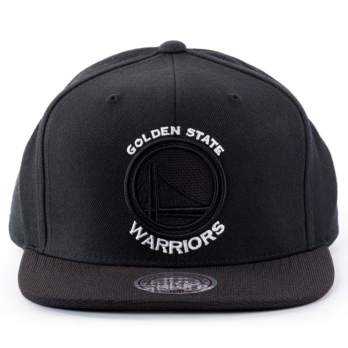 Mitchell and Ness snapback Full Dollar Golden State Warriors black