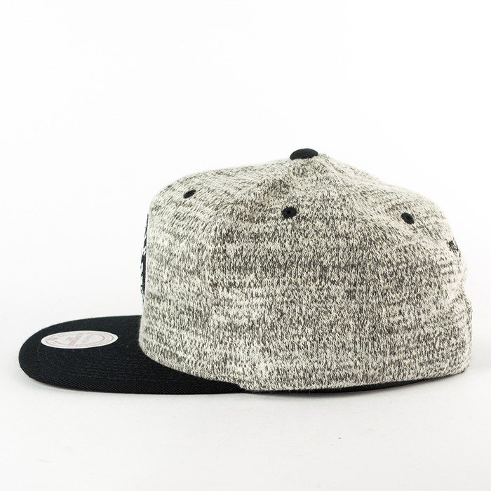 Mitchell and Ness snapback Grey Duster Brooklyn Nets grey heather / black