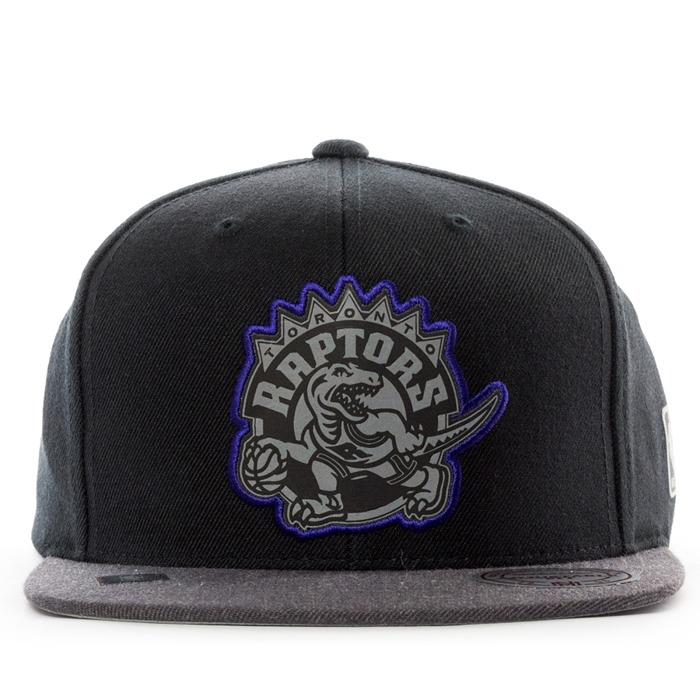 Mitchell and Ness snapback Reflective Duo Toronto Raptors black / grey