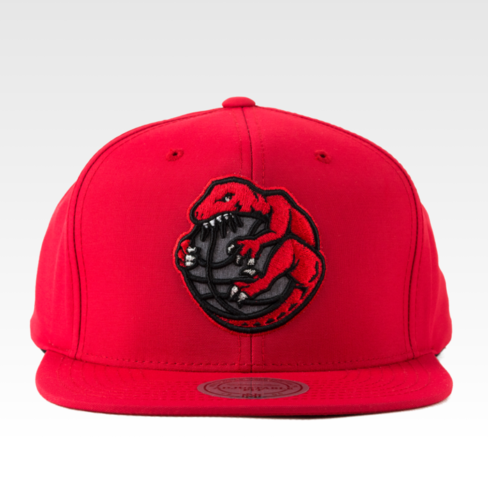 Mitchell and Ness snapback Toronto Raptors Milo red