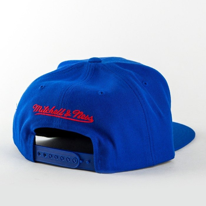 Mitchell and Ness snapback Wool Solid Montreal Canadians blue