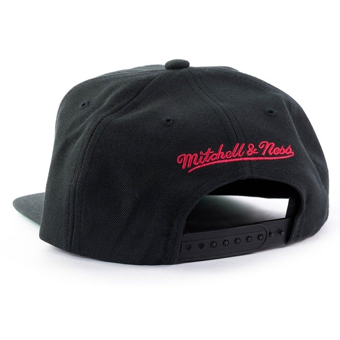 Mitchell and Ness snapback Wool Solid Portland Trail Blazers black