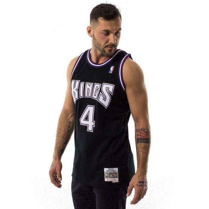Mitchell and Ness swingman jersey Sacramento Kings Chris Webber 2000-01 black