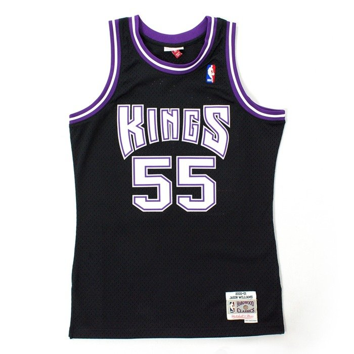Mitchell and Ness swingman jersey Sacrmento Kings Jason Williams 2000-01 black