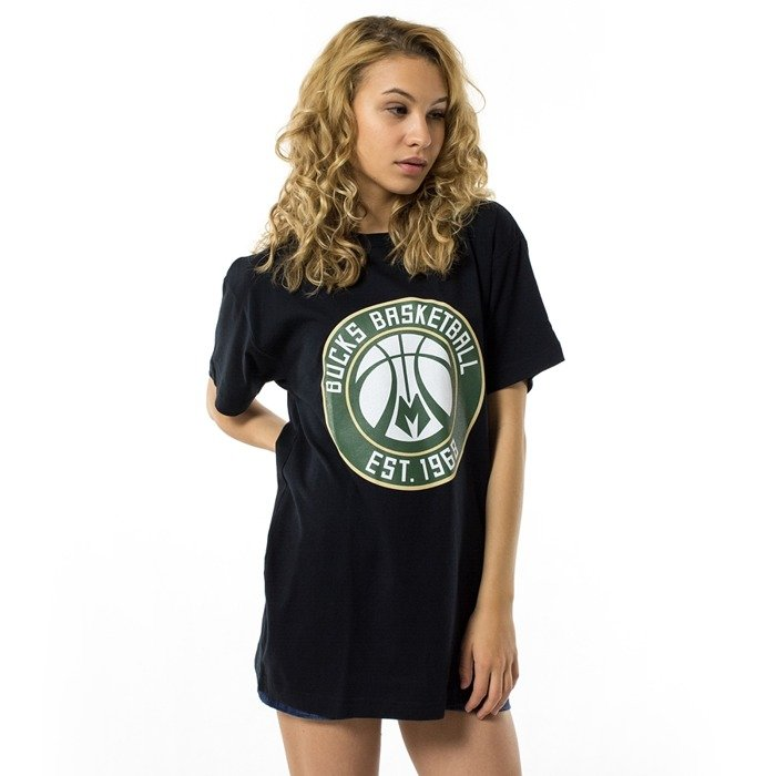 Mitchell and Ness t-shirt WMNS Team Logo Traditional Milwaukee Bucks black