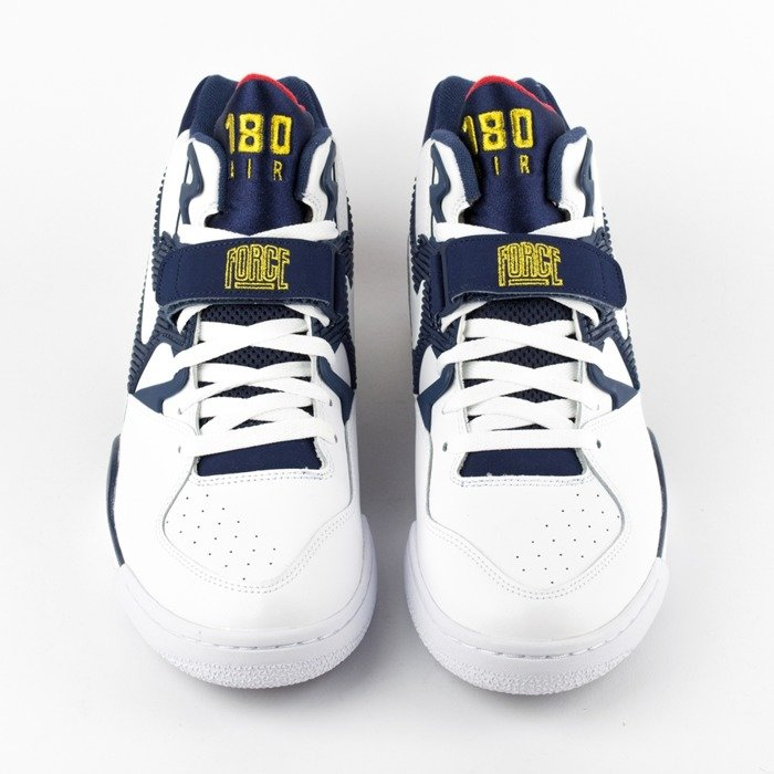 Nike Air Force 180 Olympic white / white  - midnight navy - metallic gold (310095-100)