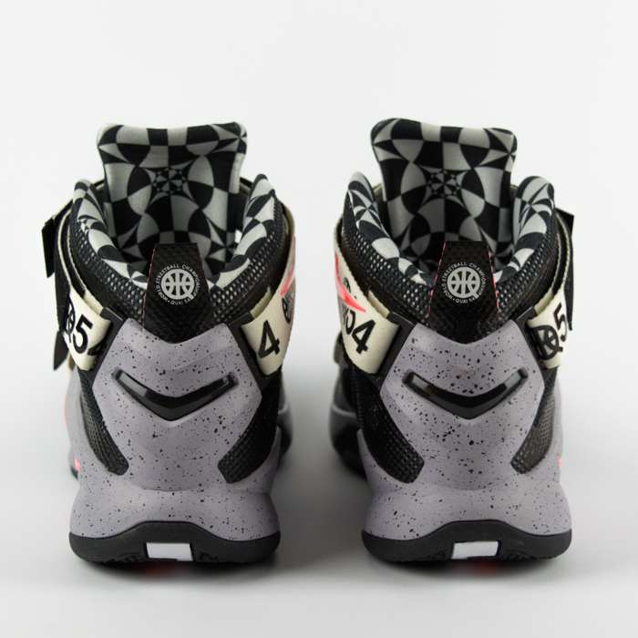 Nike LeBron Soldier IX Limited Quai 54 black / grey (810803-015)