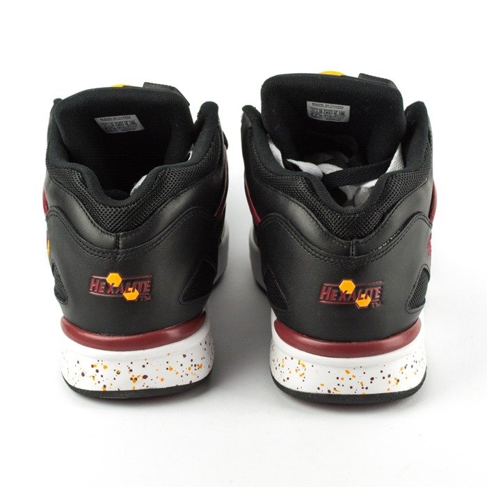 Reebok Pump Omni Lite black / white / rio red / gold (M41446)