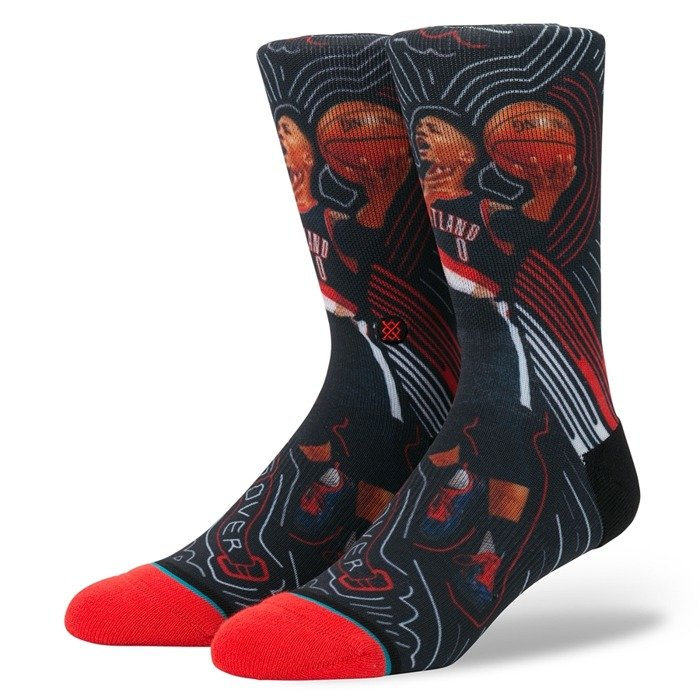 Stance socks NBA Future Legends Lillard Sketchbook black