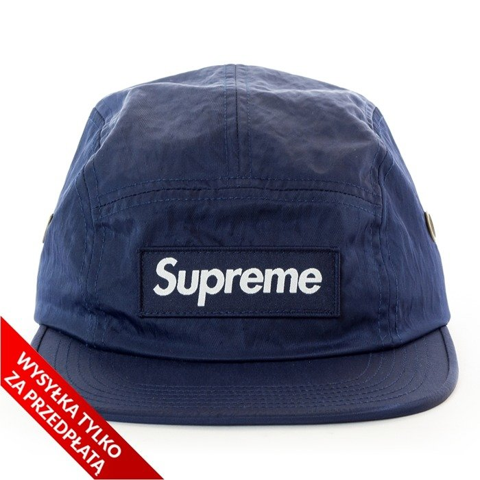 097e32a0d6f Supreme 5-panel Washed Nylon Camp Cap navy Click to zoom ...