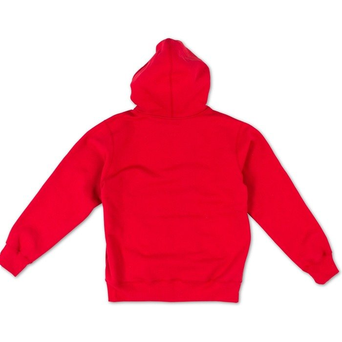 Supreme Small Box Zip Up Sweatshirt red