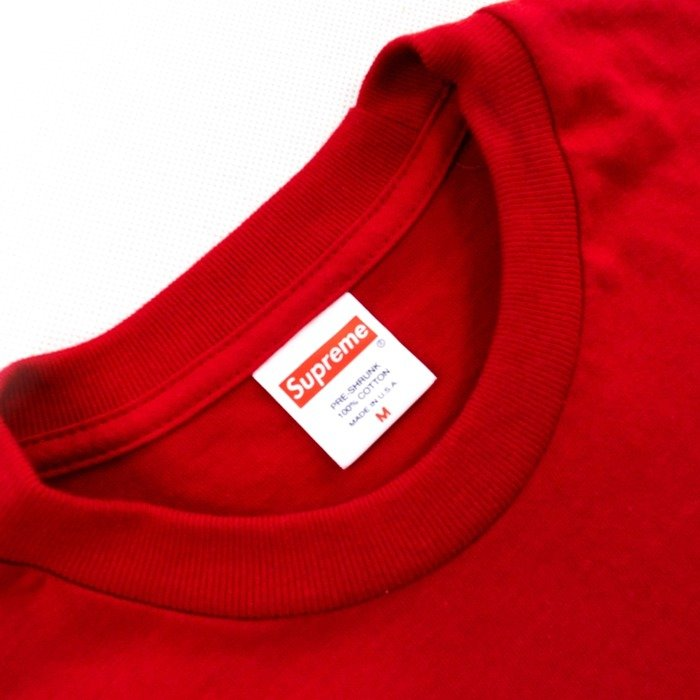 Supreme t-shirt Scarface Friend Tee red