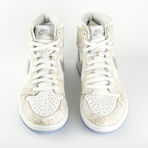 brand new 8c202 584b5 ... Air Jordan 1 Banned Retro Laser 30TH ANNIVERSARY (705289-100) Click to  zoom. 1