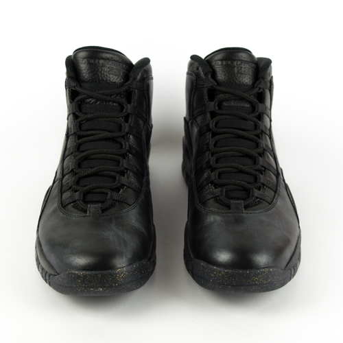 new photos 24ecb 432bb ... Air Jordan 10 Retro NYC Black   Black-Dark Grey   Metallic Gold (310805  Click to zoom. 1