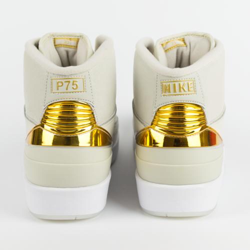 47f03797d36a ... Air Jordan 2 Quai 54 Light Bone   Metallic Gold-White (866035-001 Click  to zoom. 1