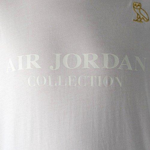 best service 73288 e75a6 Air Jordan t-shirt OVO white   gold (826742-100)   T-Shirts   T ...