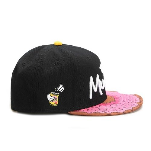 63a2c2b479299 ... Cayler and Sons snapback Munchies black   pink donut   white Click to  zoom. 1